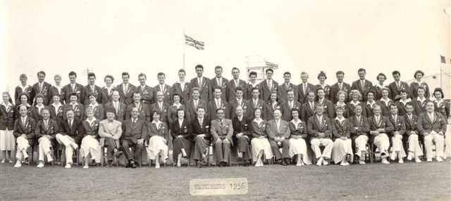 Skegness Redcoat Team 1956